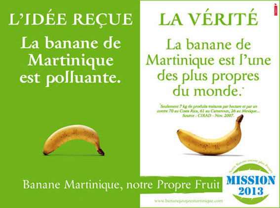 La banane de la martinique